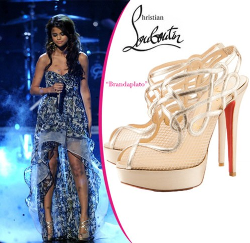 Selena-Gomez-in-Christian-Louboutin-outlet-shoes